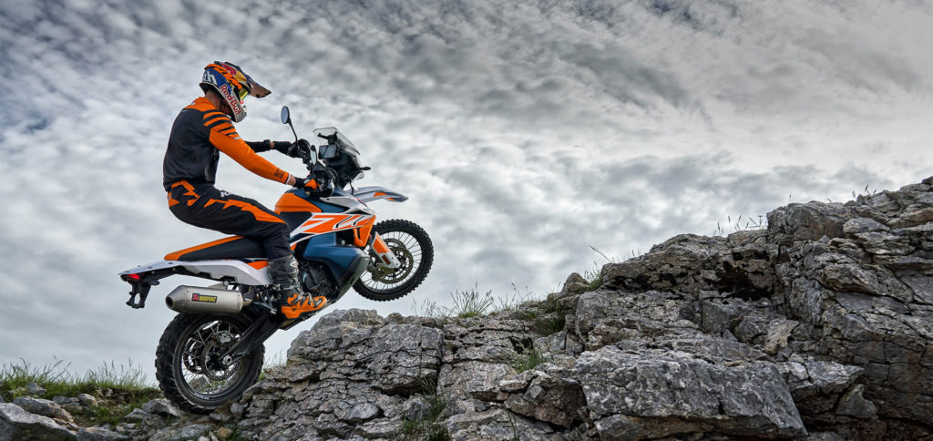 Moto KTM 790 ADVENTURE R RALLY 2020 copertina