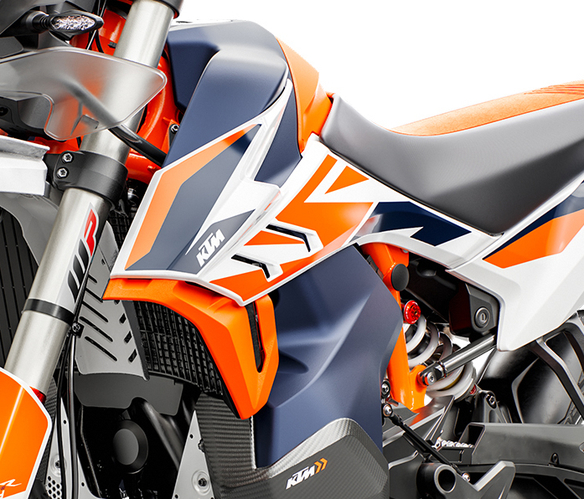 Moto KTM 790 ADVENTURE R RALLY 2020 grafica